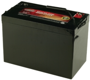 how to change the battery in a trainer amps